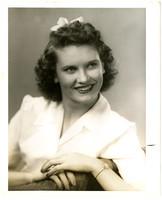 Portrait of Maxine Uncapher of the Pythian Sunshine Girls