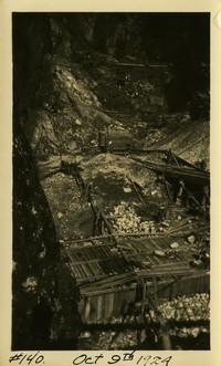 Lower Baker River dam construction 1924-10-09 Form work