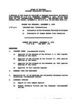 WWU Board minutes 1991 December