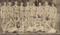 1938 Tennis Team