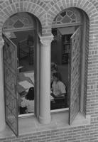 1993 Library: Students Studying