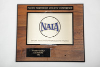 Golf (Women's) Plaque: Pacific Northwest Athletic Conference NAIA Champions, 1996
