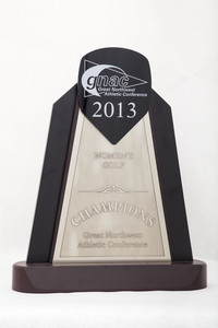 Golf (Women's) Plaque: GNAC Champions, 2013