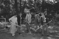 1993 Biology Building: Groundbreaking
