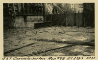 Lower Baker River dam construction 1925-05-09 Concrete Surface Run #98 El.278.3