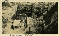 Lower Baker River dam construction 1925-07-03 Power House