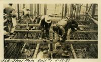 Lower Baker River dam construction 1925-05-15 Steel Rein Unit #1