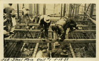 Lower Baker River dam construction 1925-05-15 Steel Rein Unit #1