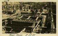 Lower Baker River dam construction 1925-05-25 Power House