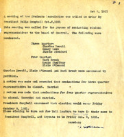 AS Board Minutes 1931-10