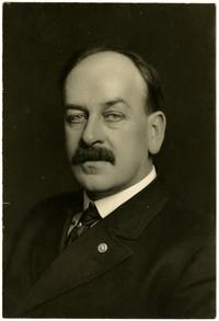 Studio portrait of Captain W.B. Knight