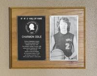 Hall of Fame Plaque: Charmon Odle, Women's Basketball (Guard), Class of 1989