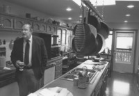 1983 G. Robert Ross at Home in the Kitchen