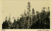Lower Baker River dam construction 1924-10-06 Concrete transportation