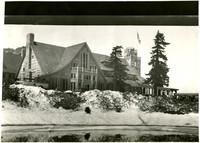 Winter scene at Mt. Baker Lodge