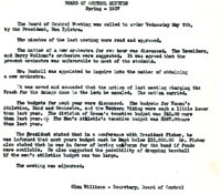 AS Board Minutes 1937-05