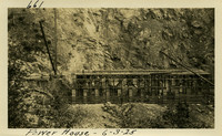 Lower Baker River dam construction 1925-06-03 Power House