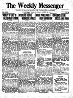 Weekly Messenger - 1919 March 22
