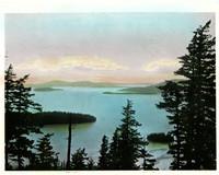 Chuckanut Bay looking south toward Samish Island.