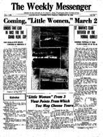 Weekly Messenger - 1922 February 24