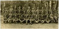 Men in World War I uniforms