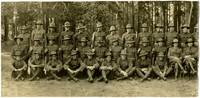 Men in World War I uniforms