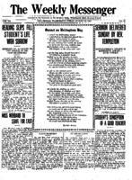 Weekly Messenger - 1921 August 19