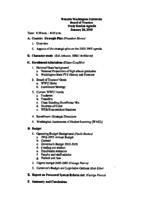 WWU Board minutes 2003 January