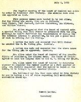 AS Board Minutes 1933-07
