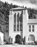 1951 Campus Elementary School, Main Entrance