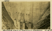 Lower Baker River dam construction 1925-10-18 Upstream View of Temporary Sluiceway
