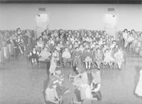 1960 Students Performing in Auditorium