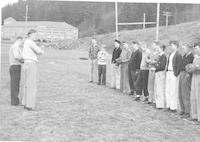 1946 Baseball With Norman Nelson And Robert Ludwick, Student Teachers