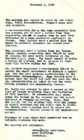 AS Board Minutes 1950-11