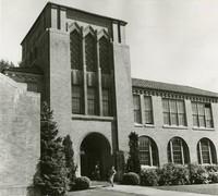 1960 Campus School Building Main Entrance (School's Out!)