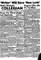 Western Washington Collegian - 1954 January 8