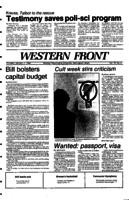 Western Front - 1984 January 17