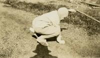 1925 Training School Student in Rabbit Costume