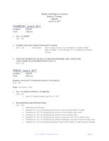 WWU Board of Trustees Packet: 2017-06-08