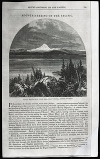 Mountaineering on the Pacific (copy of article from Harper's New Monthly Magazine, vol. 39, Nov. 1869), page 1