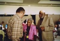 2007 Reunion--Hal Lewis Greets Lois Spratlen and Thaddeus Spratlen
