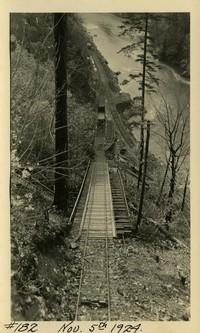 Lower Baker River dam construction 1924-11-05 Railroad track
