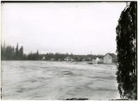 Flooding waters of Nooksack