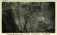 Lower Baker River dam construction 1925-06-29 Mucking & Sluicing E. Side of Damsite