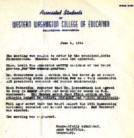 AS Board Minutes 1951-06