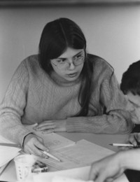 1977 Student Studying