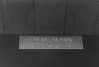 1955 Old Main Sign