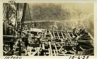 Lower Baker River dam construction 1925-10-06 Intake