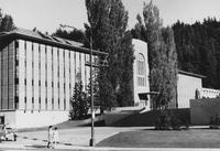 1968 Library: South Facade
