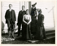 New Whatcom High School teaching staff, November 1900